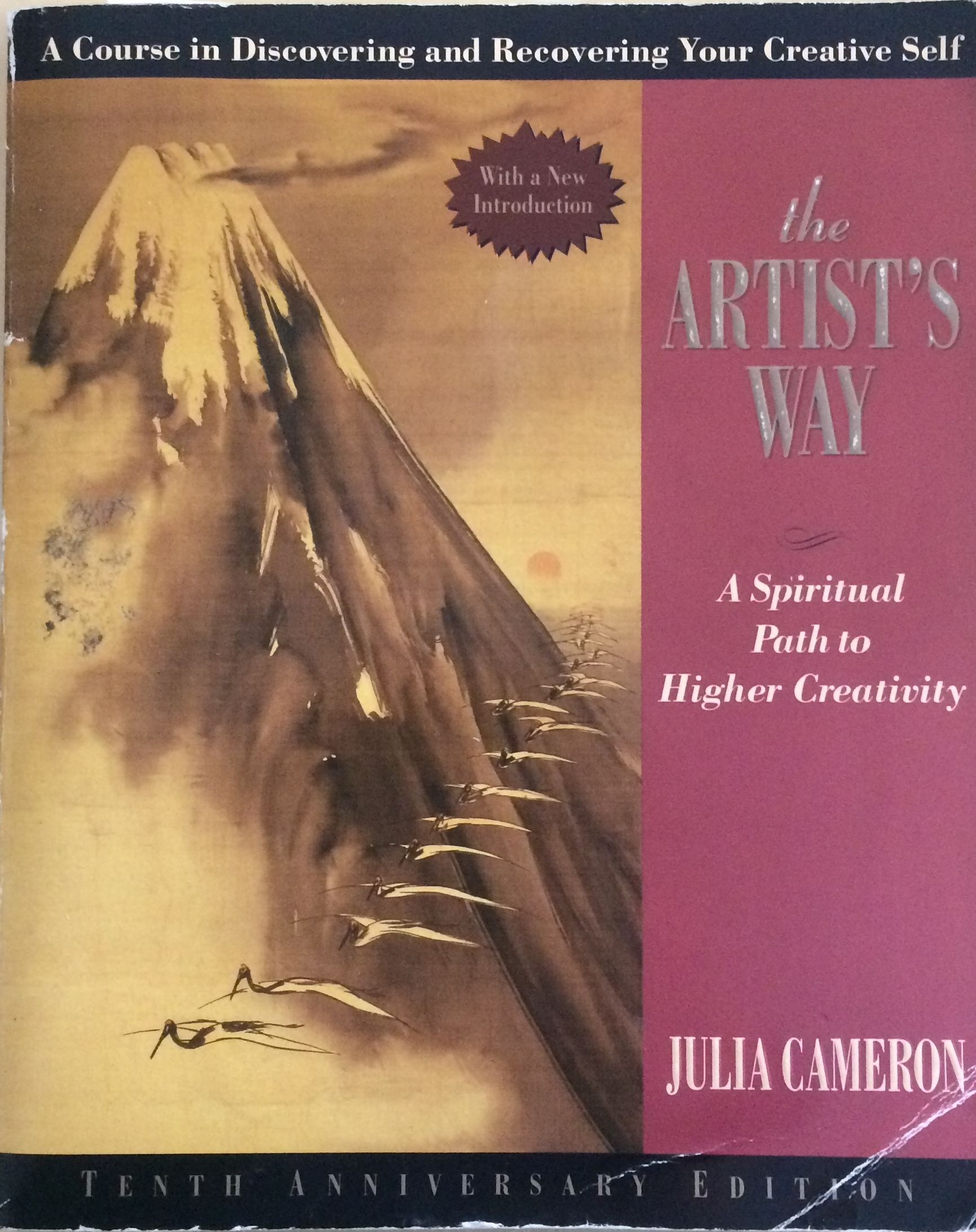 The artists way by julia cameron dan dzombak for those who arent familiar with the artists way the book is structured as a 12 week program to free your inner creativity boost your creative output solutioingenieria Choice Image